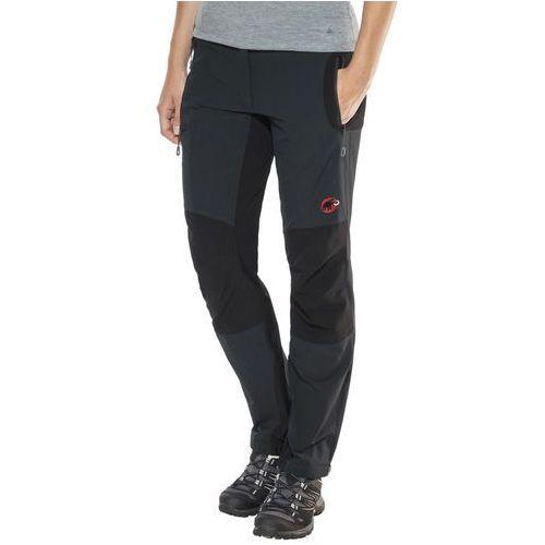 Mammut courmayeur so spodnie długie kobiety czarny de 36 2018 spodnie softshell