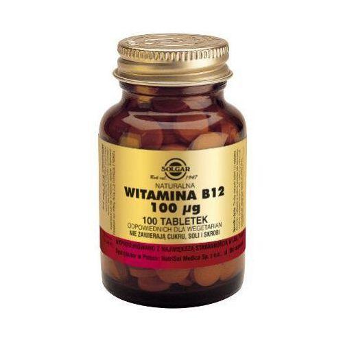 Witamina B12 100 μg 100 tabl