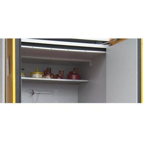 Lacont umwelttechnik Półka wkładana z rusztu kratowego do szafy na beczki, szer. x głęb. 1550x1025 mm