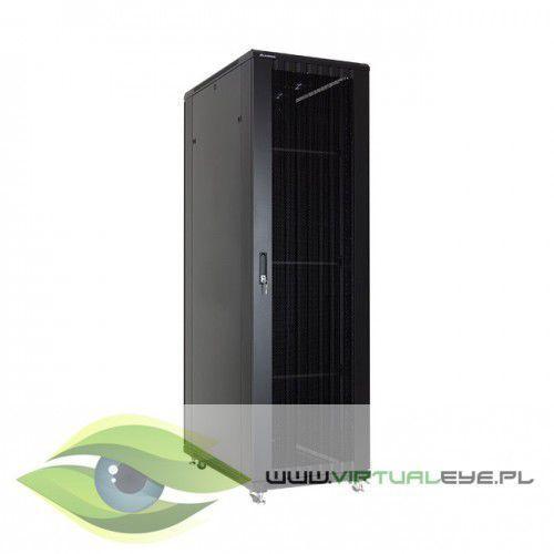 """Linkbasic Szafa stojąca rack 19"""" 37U 600x1000mm czarna (drzwi perforowane), 1_667685"""