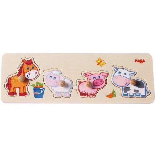 Haba puzzle małe zwierzątka 301939 (4010168218892)