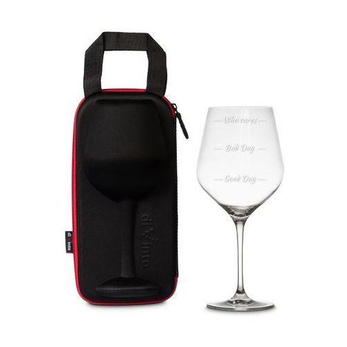 Gigantyczny kieliszek na wino w etui diVinto Diamond. Najniższe ceny, najlepsze promocje w sklepach, opinie.