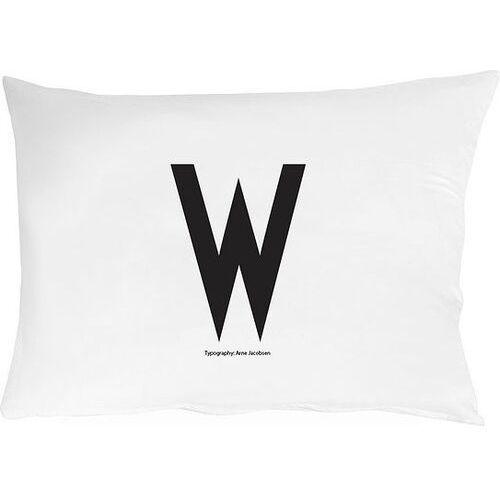 Design letters Poszewka na poduszkę arne jacobsens vintage abc litera w