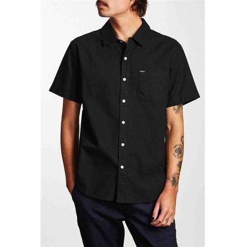 koszula BRIXTON - Charter Oxford S/S Wvn Black (BLACK) rozmiar: M, 1 rozmiar