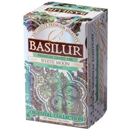 BASILUR 70417 20x2g White Moon Herbata zielona kopertowana | DARMOWA DOSTAWA OD 150 ZŁ! - sprawdź w wybranym sklepie