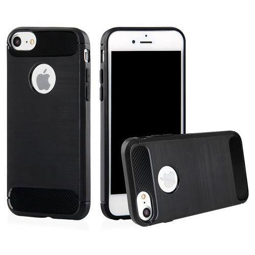 Etui QULT Back Case Armor do iPhone 7/8 Czarny (5901836683373)