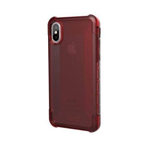 Urban armor gear Etui plyo do apple iphone x czerwony/przezroczysty (0858329007299)