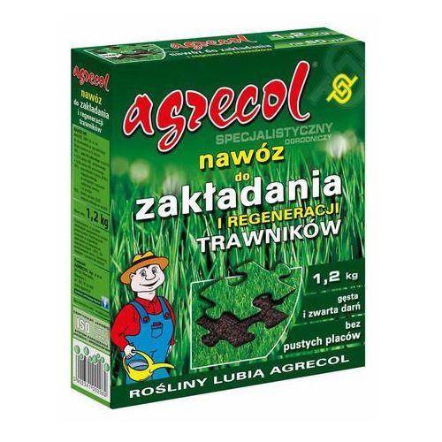 Nawóz do zakładnia i regeneracji trawnika 1,2 kg marki Agrecol