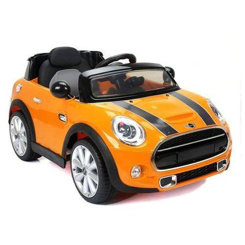 Hecht czechy Hecht bmw mini hatch yellow samochód elektryczny akumulatorowy auto jeździk zabawka dla dzieci z pilotem dystrybutor autoryzowany dealer hecht (8595614912181)