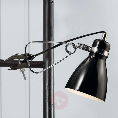 Błyszcząca lampa z klipsem Clone czarna