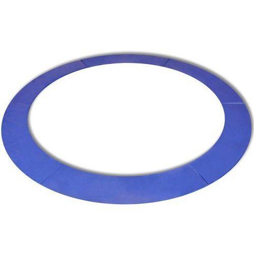 Vidaxl osłona sprężyn do okrągłych trampolin 13 ft/3,96 m, pe niebieska