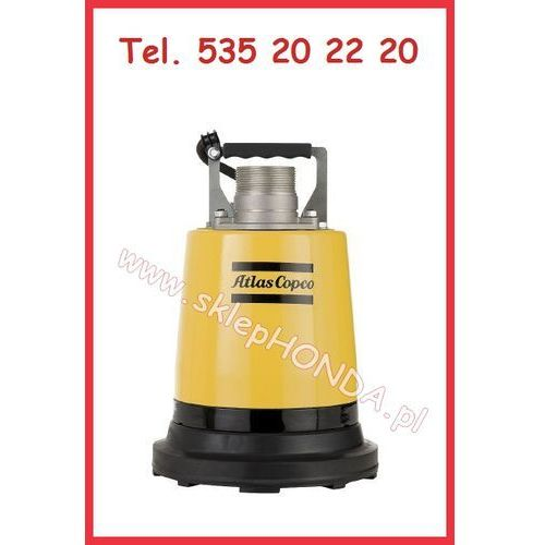 WEDA 04B Pompa elektryczna jednofazowa ATLAS COPCO (225 l/min) do niskiego poziomu wody