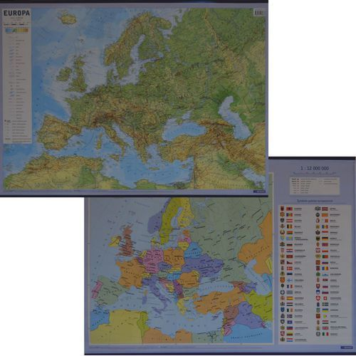 Europa ścienna mapa podręczna (9788374279383)