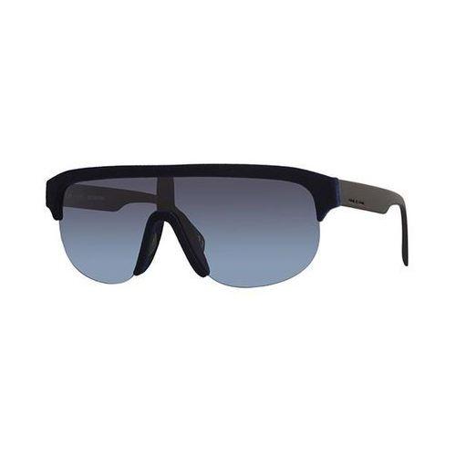 Okulary Słoneczne Italia Independent II 0911V I-PLASTIK VELVET 021/000, kolor żółty