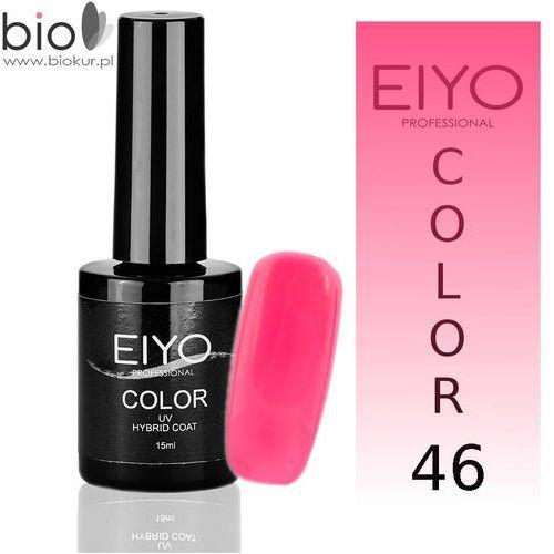 Lakier hybrydowy EIYO Crazy - Jasny Róż Neon - nr 46 - 15 ml