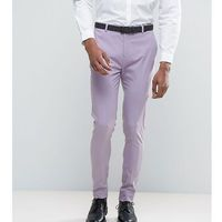 ASOS TALL Super Skinny Smart Trousers In Light Purple - Purple