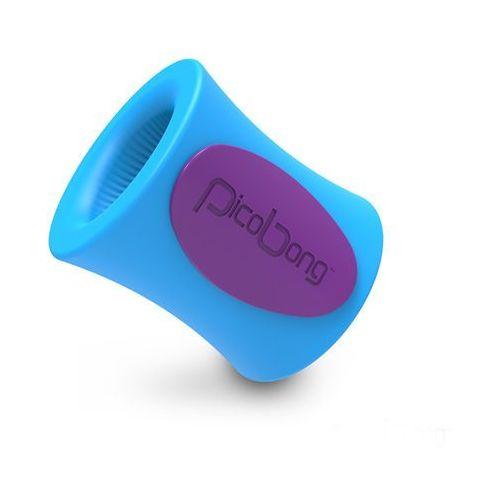 Masturbator sterowany aplikacją -  remoji blowhole m-cup niebieski marki Picobong