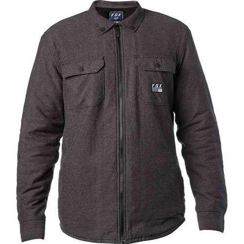 Koszula - torrent flannel heather black (243) rozmiar: m marki Fox