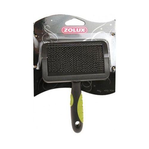 Zolux bursten - zgrzebło plastikowe małe - zęby miękkie - darmowa dostawa od 95 zł! (3336024707036)
