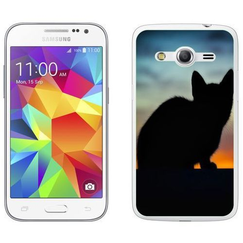 Zolti Samsung galaxy core prime - etui na telefon - kolekcja zwierzęta - kot - l24