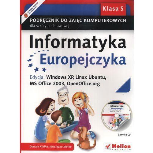 Informatyka Europejczyka 5 Podręcznik Do Zajęć Komputerowych Z Płytą Cd