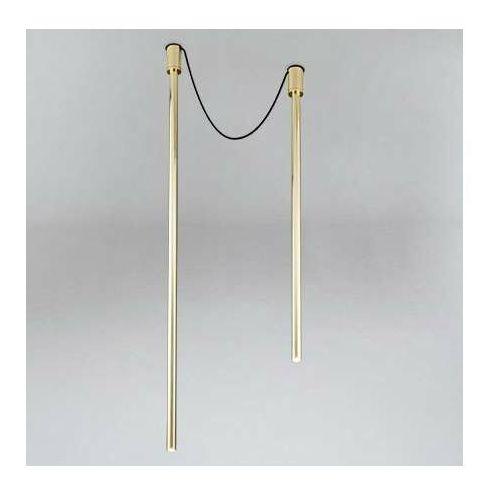 LAMPA sufitowa ALHA Y 9198 Shilo downlight OPRAWA sople tuby mosiądz, 9198