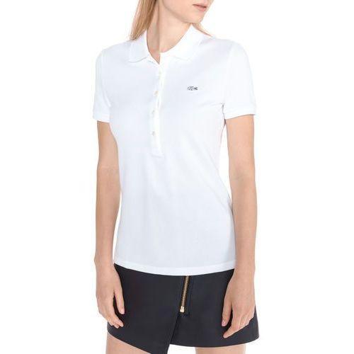 polo koszulka biały l, Lacoste