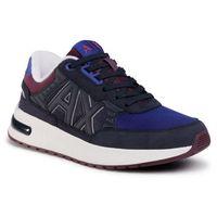 Sneakersy ARMANI EXCHANGE - XUX052 XV205 R580 Navy/Burgundy, w 7 rozmiarach