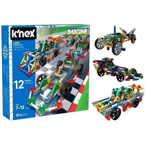 Klocki Knex Samochody 12 Modeli 187 el. K'nex Imagine
