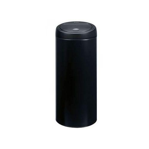 Brabantia Kosz na śmieci 30 litrów touch bin stal czarny mat