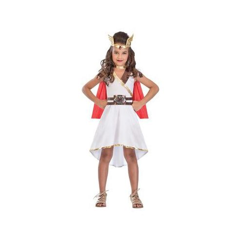 Amscan Kostium starożytnej księżniczki dla dziewczynki - 8/10 lat (134) (0013051830427)