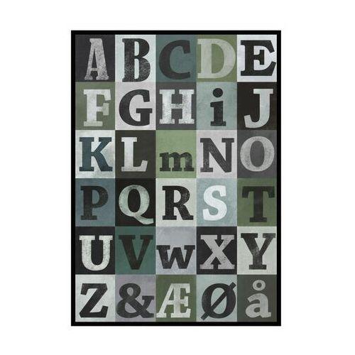 Obraz alfabet 70 x 100 cm marki Knor