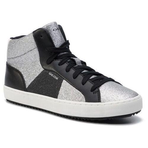 Sneakersy GEOX - J Kalispera G.P J944GB 0CD54 C1007 D Silver, kolor szary