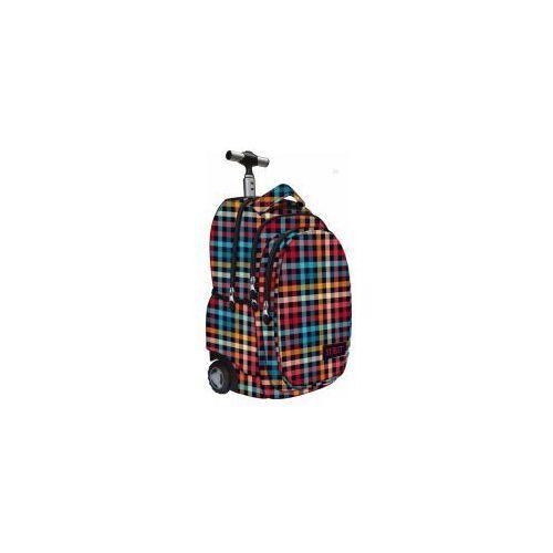 Plecak młodzieżowy na kółkach chequered st.reet tb-01 marki St.-majewski