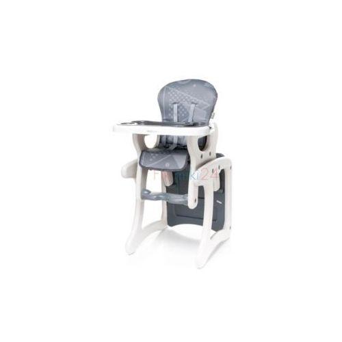 krzesełko do karmienia fashion szary marki 4baby