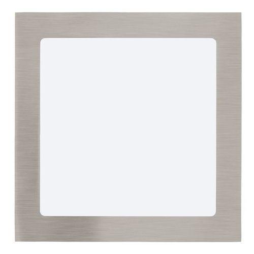 Plafon lampa sufitowa oprawa downlight oczko fueva 1 1x18w led nikiel mat / biały kwadr.31678 marki Eglo