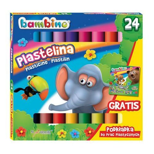 Plastelina bambino 24kol. 01901 marki St.majewski