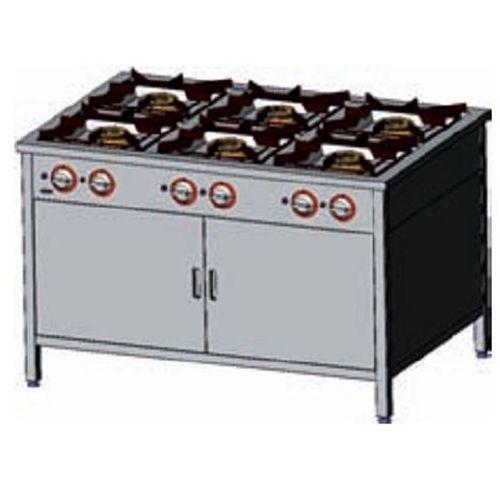 Kuchnia gazowa 6-palnikowa z szafką EGAZ TG 6732.II