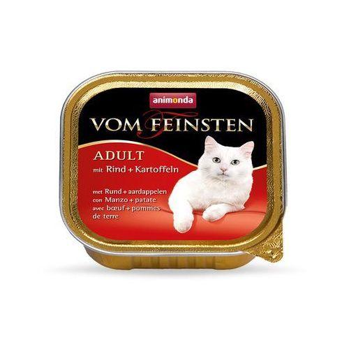 ANIMONDA Vom Feinsten Adult Cat smak: z wołowina i ziemniakami 100g, MS_2323