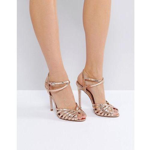 ASOS HONEYPIE Heeled Sandals - Gold