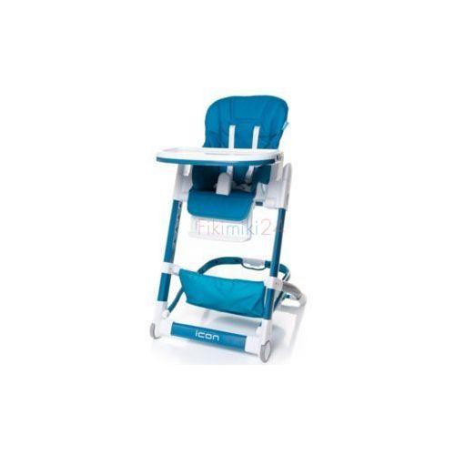 4Baby Krzesełko do karmienia ICON niebieskie