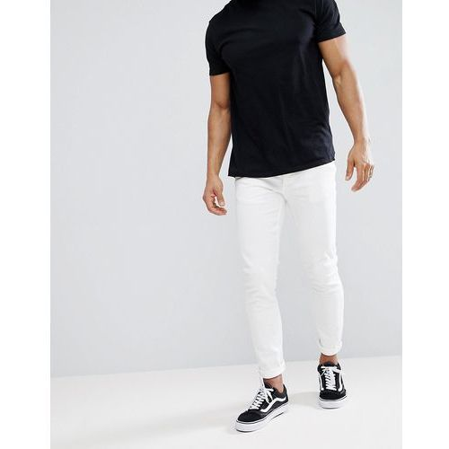 River Island Skinny Stretch Jeans In White - White, jeans