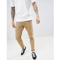 New Look skinny chinos in tan - Stone