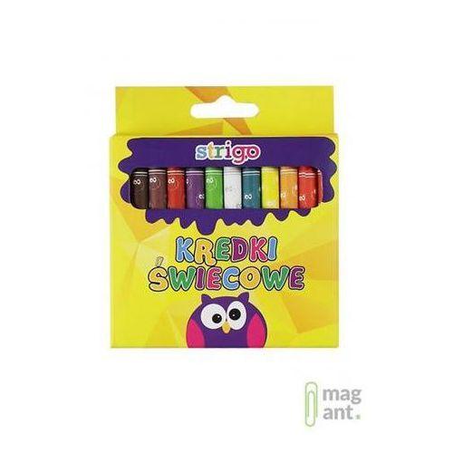 Kredki świecowe 24 kolory STRIGO (6930518936949)