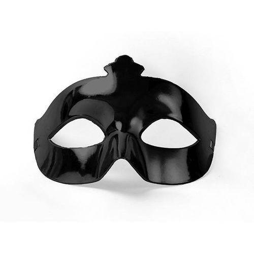 Twojestroje.pl Maska imprezowa, karnawał, czarna - mas1-010