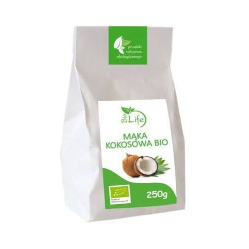 BIOLIFE 250g Mąka kokosowa Bio