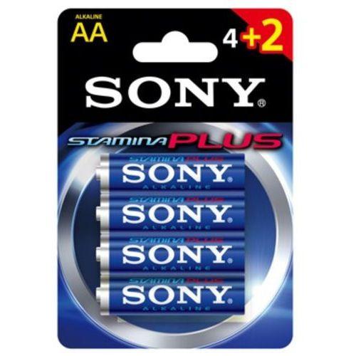 Bateria lr6 aa (4+2szt blister) stamina plus marki Sony