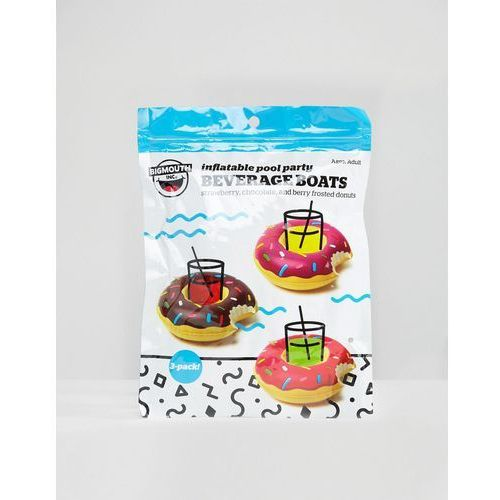 Donut pool party beverages floats in 3 pack - multi marki Gifts
