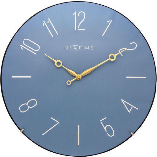 Zegar 3158 BL Trendy Dome Nextime, kolor niebieski