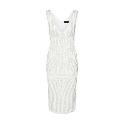 Missguided Sukienka srebrny / biały